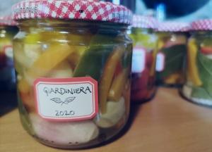 Italian pickled vegetables