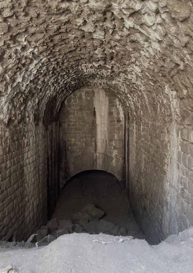 ambulacrum with stalactites