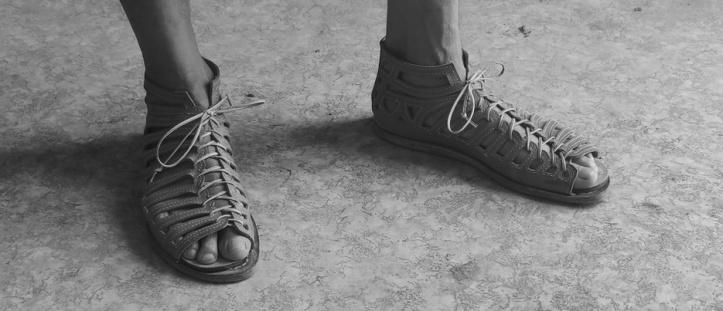 Roman Sandals - photo by Enrico Nerogotico Sabatini